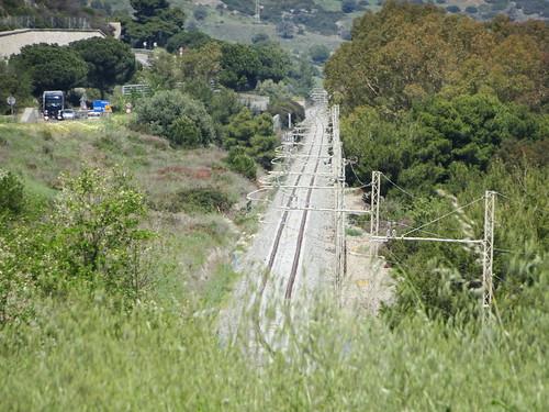 Totalumbau der Strecke in Süditalien