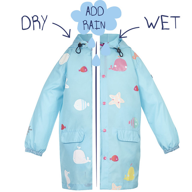 SquidKids_RainJacket_Front_Starfish_DryWet