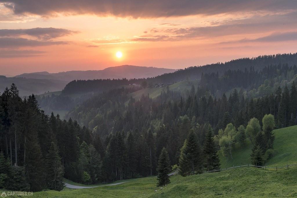 Sunset - Emmental