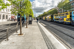 TRAM STOP UPPER O'CONNELL STREET DUBLIN [LUAS GREEN LINE SERVICE]-139709