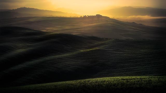Tuscan sunset.