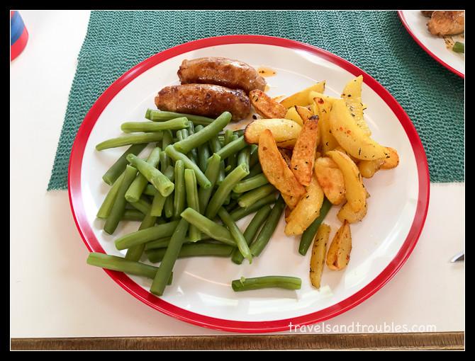 Een simpele maaltijd