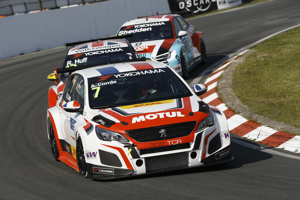07 COMTE Aurelien, (fra), Peugeot 308 TCR team DG Sport Competition, action during the 2018 FIA WTCR World Touring Car cup of Zandvoort, Netherlands from May 19 to 21 - Photo Jean Michel Le Meur / DPPI