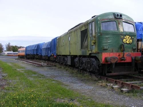 Old Railway Yard, Moyasta, Co. Clare