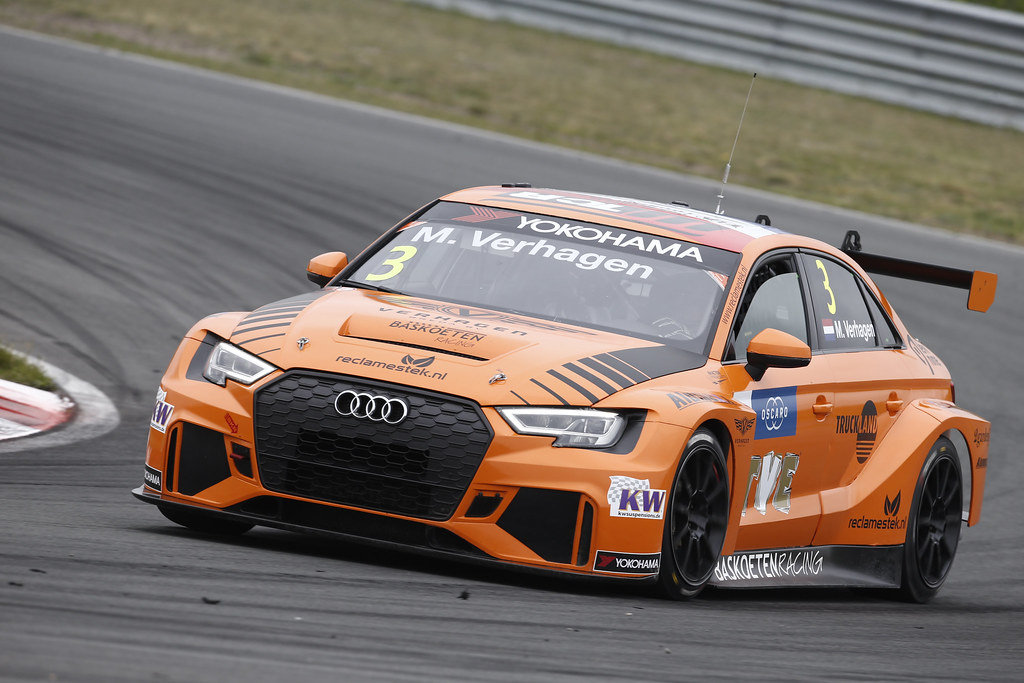 03 VERHAGEN Michael (ned), Audi RS3 LMS, Bas Koeten Racing, action during the 2018 FIA WTCR World Touring Car cup of Zandvoort, Netherlands from May 19 to 21 - Photo Francois Flamand / DPPI