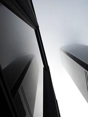 Financial district mist