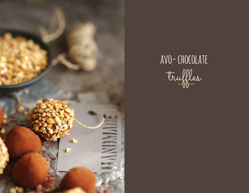 avo chocolate truffles
