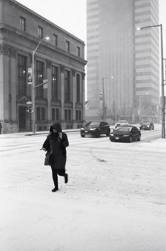 The Ice Storm series: Crossing Alone