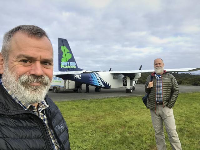 Flight to Invercargill