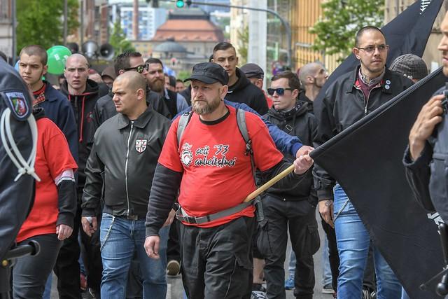 1. Mai-Demo in Chemnitz