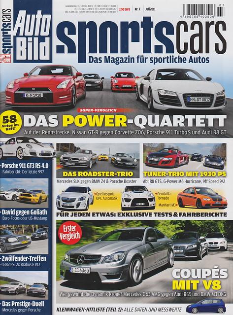 Auto Bild Sportscars 7/2011