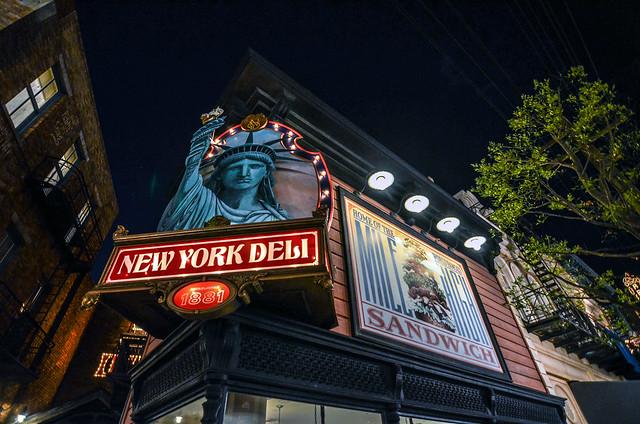 New York Deli facade TDS
