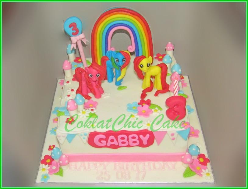 Cake My Little Pony GABBY 18 cm