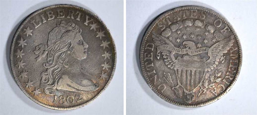 1802 Half Dime likely fake