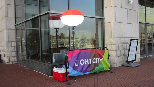 Light City, Baltimore, April 21, 2018