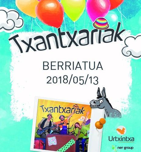 Txantxariak Berriatuan 2018-05-13