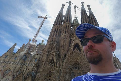 La Sagrada Familia -selfie