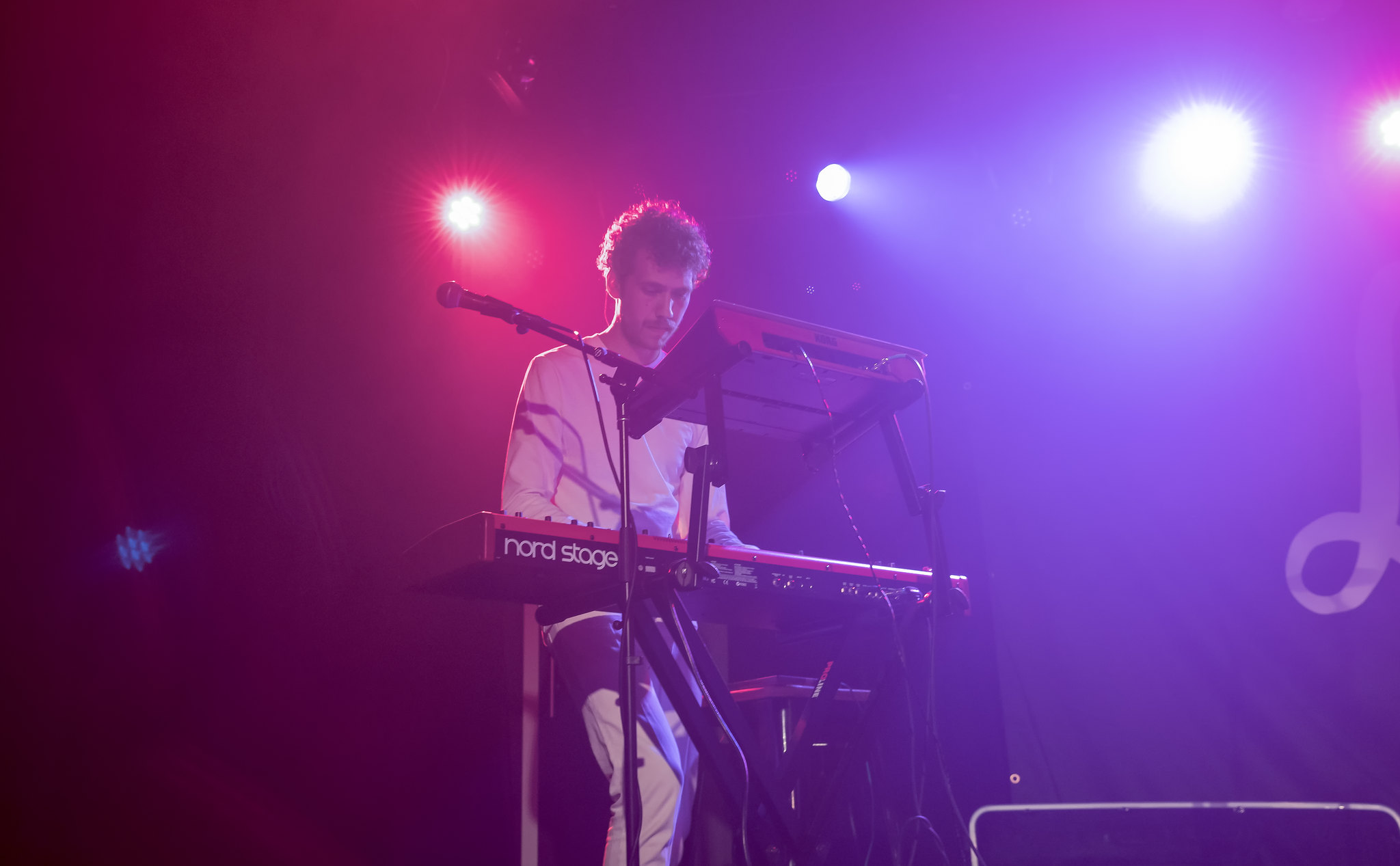 Michael Blume's Keyboardist