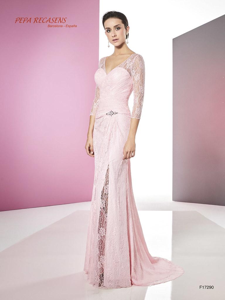 c50d4f35f peparecasens18 F-17290 A Pepa Recasens vestidos de ceremonia fiesta madrina  elegantes tallas grandes economicos