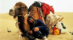 Bruno Baumann in der Gobi