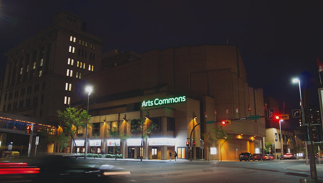 Arts Commons goes green with boost from province