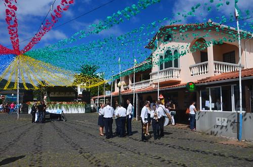 Vorbereitungen zum Fest in Serro da Santo