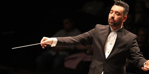 """III MEMORIAL DIEGO PEREZ - JOSÉ ALBERTO PINA DIRIGE LA BANDA DE MÚSICA JUVENTUDES MUSICALES-UNIVERSIDAD DE LEÓN EN EL ESTRENO DE SU OBRA """"THE GHOST SHIP"""" EN CASTILLA Y LEÓN - AUDITORIO CIUDAD DE LEÓN 1.05.18"""
