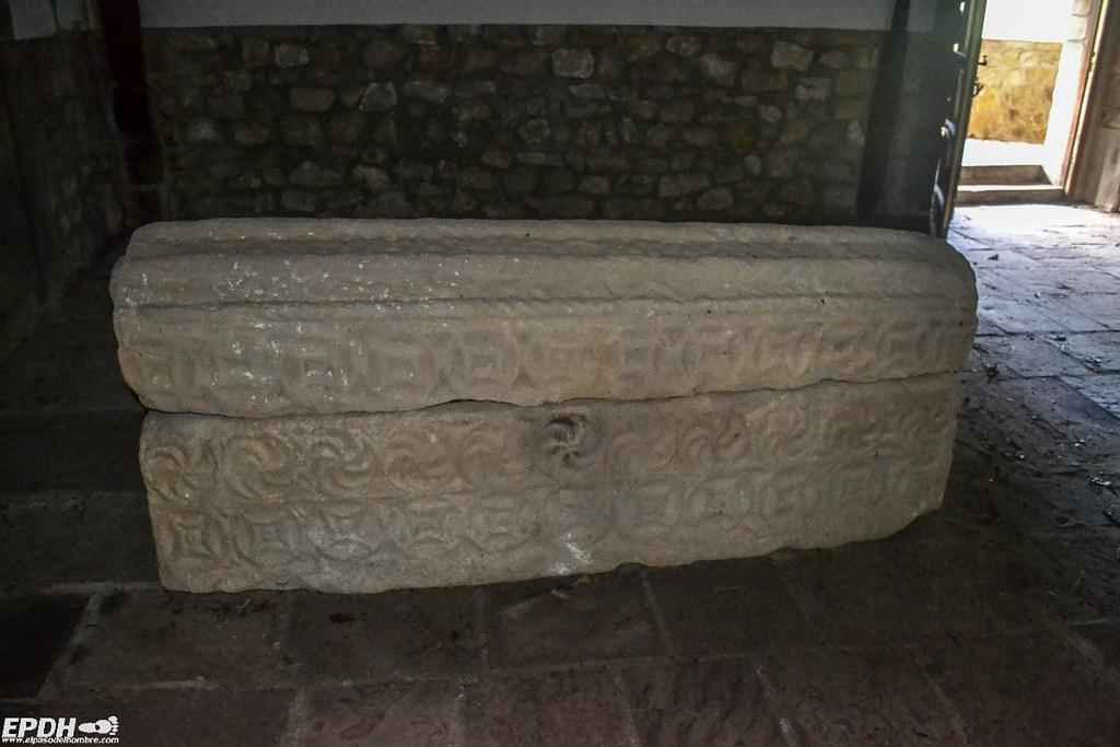 sarcófago de Lamiña