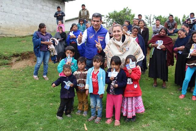 Isaac Martínez en Tlacomulco