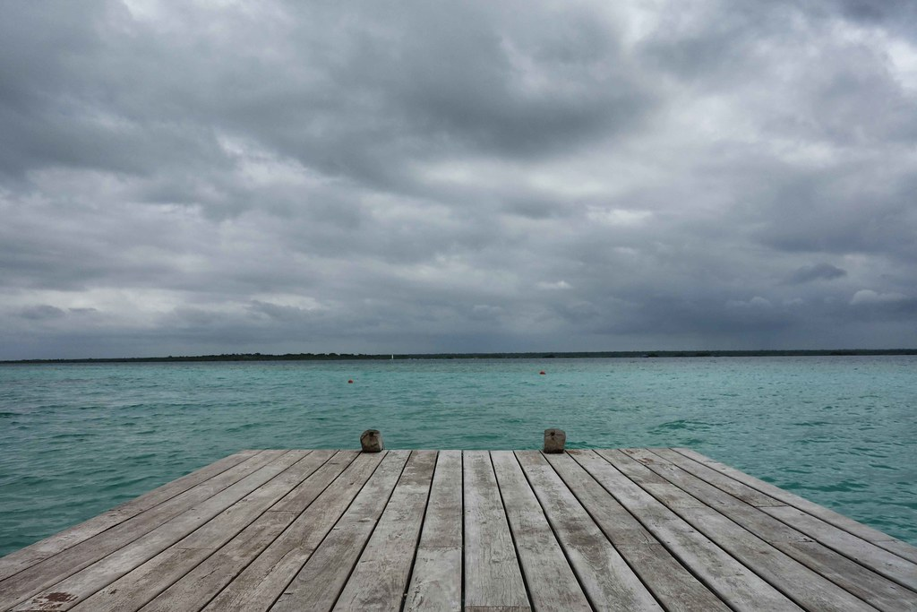 Bacalar - Lagune - Ponton 2