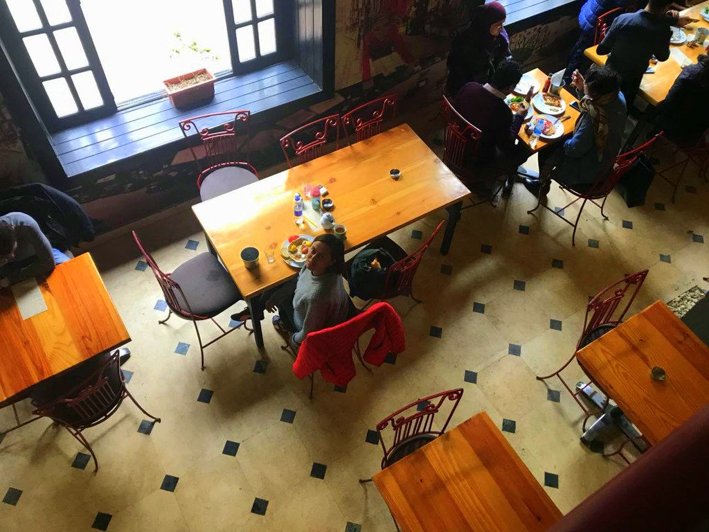 Vibrant cafes in Cairo