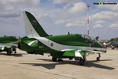 8821 - 6Y012 - Saudi Hawks - Royal Saudi Air Force - British Aerospace Hawk 65A - Luqa Malta 2017 - 170923 - Steven Gray - IMG_0056