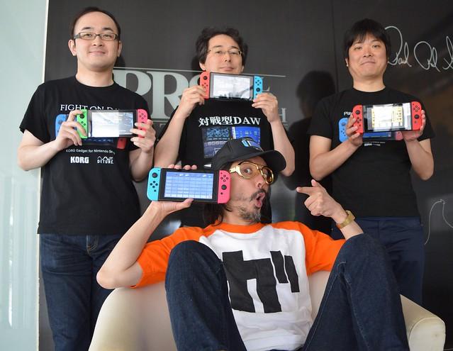「なんとかマインクラフトを抜きたい!」前代未聞の4人対戦型DAW、KORG Gadget for Nintendo Switchで目指す佐野電磁さんの野望!
