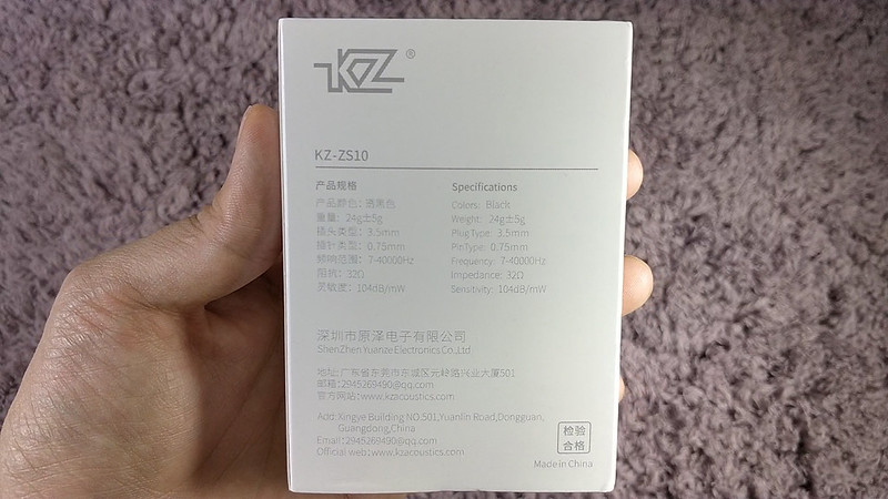 KZ ZS10 開封レビュー (3)