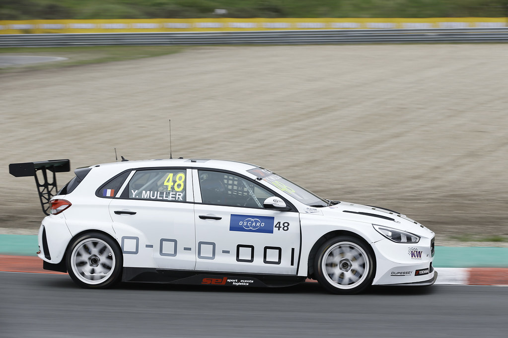 48 MULLER Yvan, (fra), Hyundai i30 N TCR team Yvan Muller Racing, action during the 2018 FIA WTCR World Touring Car cup of Zandvoort, Netherlands from May 19 to 21 - Photo Jean Michel Le Meur / DPPI
