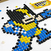 How to draw Wolverine - M&M Mosaic