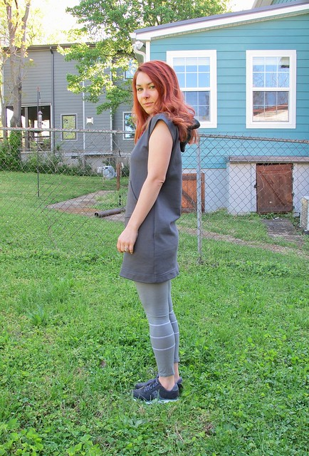 French Terry Stella Hoodie Dress