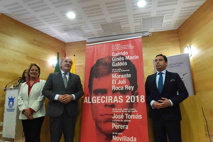 PRESENTACIÓN DE LOS CARTELES TAURINOS DE LA FERIA REAL 20183