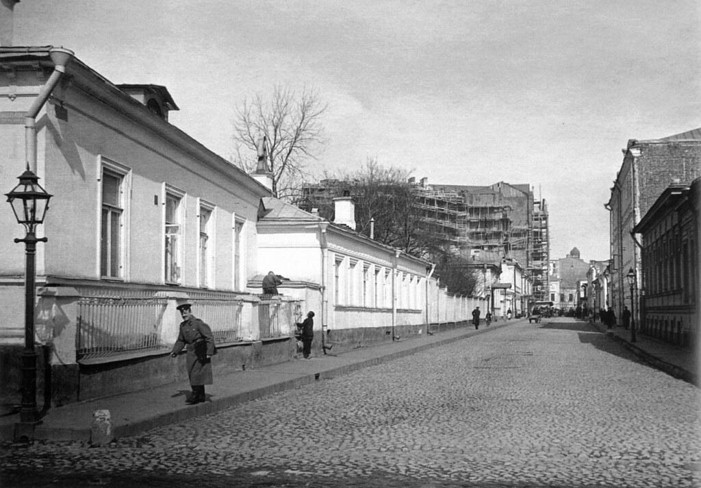 Вид Калошина переулка. 1913