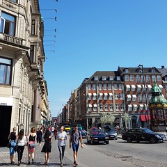 Morning city walk