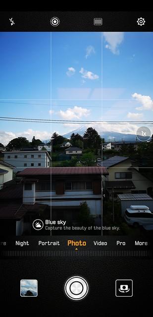 EMUI 8.1 - Camera - Blue Sky