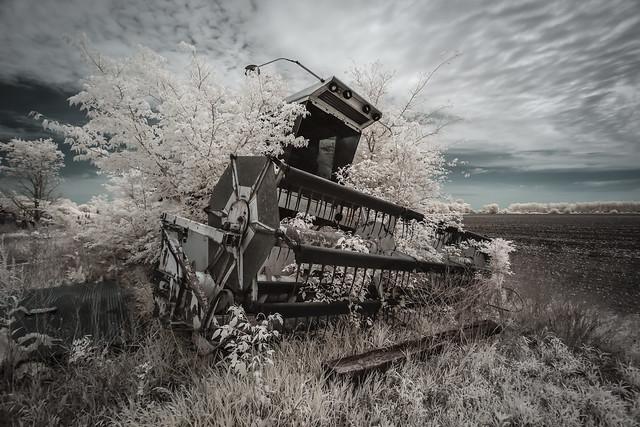 Combine Harvester Infrared