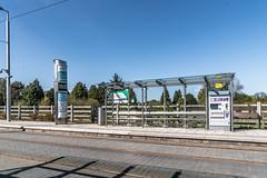 LUAS TRAM STOP AT LEHAUNSTOWN [GREEN LINE SERVICE]-139055