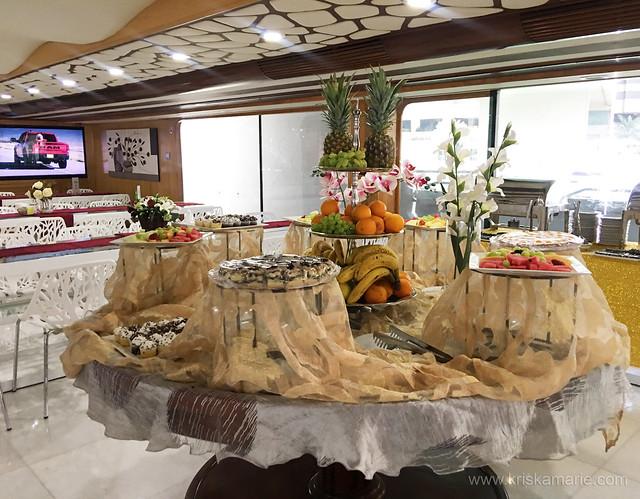 Desserts Section at Lotus Mega Yacht Brunch