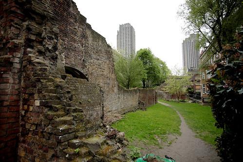 Resti delle mura romane