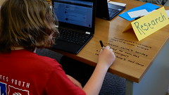 Forschung auf dem Schreibtisch