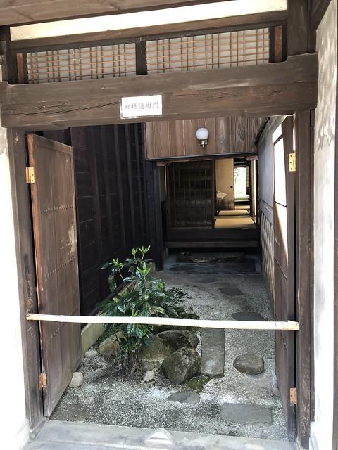 岩村 木村邸 藩主来訪時用の玄関 IMG_0330