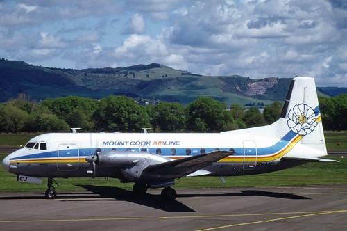 1661 HS48 ZK-MCJ Mount Cook Al ROT 10-91