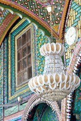 Chandelier at mosque