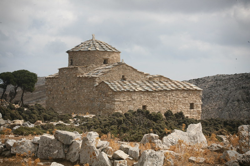 Byzantine Church of Hagia Kyriaki, Naxos, GREECE